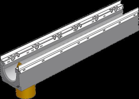 BGU-Z DN100 с вертикальным выпуском