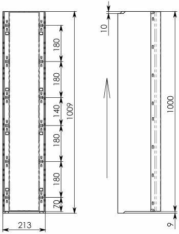 Схема 2: BGU-Z DN150, №10-0, без уклона