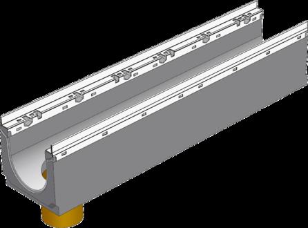 BGU-Z DN150 с вертикальным выпуском