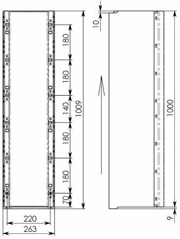 Схема 2: лоток 100.26,3 (20).23(17,5) - BGU-Z, № -10-0
