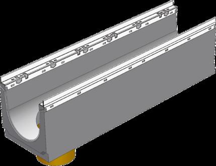 BGU-Z DN200 с вертикальным выпуском