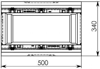 Схема 2: Пескоуловитель BGZ-S DN200