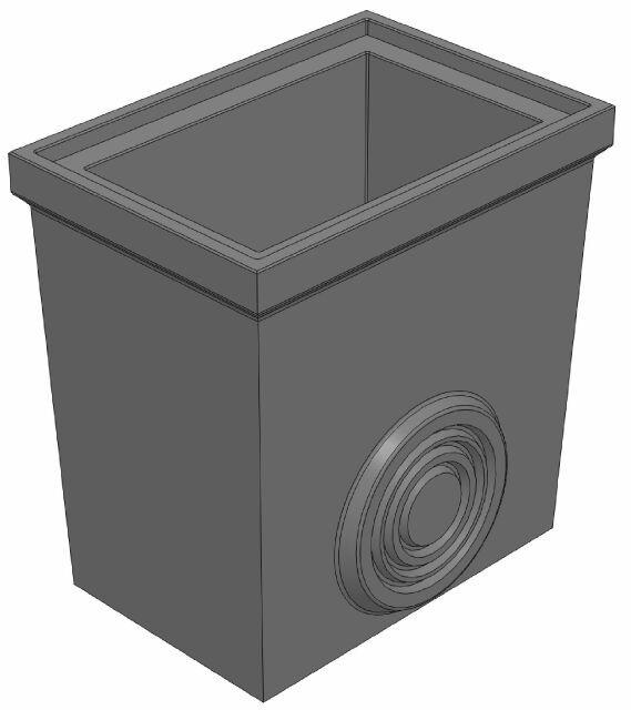 Нижняя часть 560/390/570 универсальная для пескоуловителя DN200