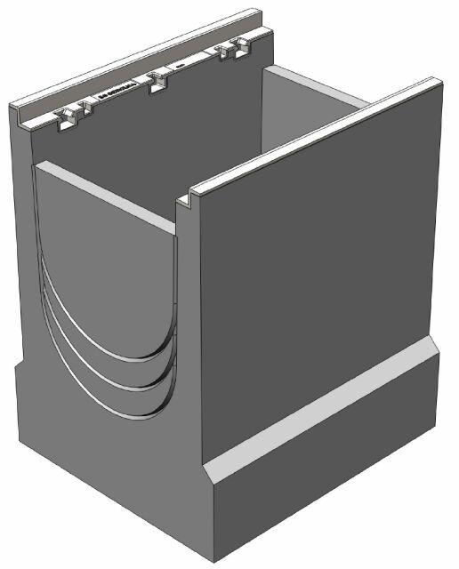BGZ-S пескоуловитель DN300 500/440/500, верхняя часть