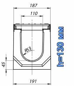 Схема: лоток BetoMax ЛВ-11.19.13
