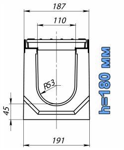 Схема: лоток BetoMax ЛВ-11.19.18