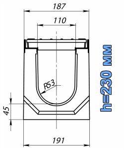 Схема: лоток BetoMax ЛВ-11.19.23