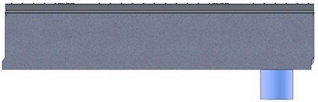 BetoMax DN160 с вертикальным выпуском