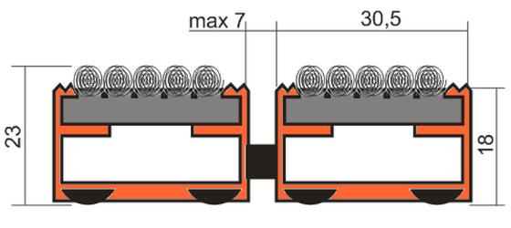 Чертеж решетки Сити Текстиль
