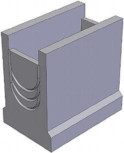 BGU пескоуловитель DN200 500/340/500, верхняя часть