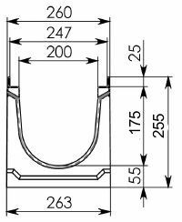 Схема 1: лоток 100.26,3 (20).25,5(20) - BGU-Z, № -5-0