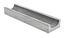 Мелкосидящий бетонный лоток