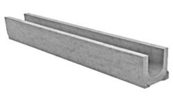 Стандартный лоток водоотводный бетонный