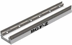 Лоток бетонный BGF-Z с насадками