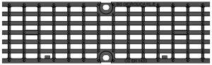 Решетка для лотка BGU-Z DN100 №5-0, кл. E