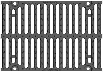 Решетка для лотка BGZ-S DN300 № -10-0, кл. F
