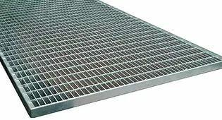 Типовая придверная стальная решетка