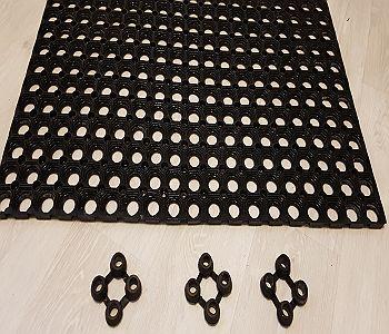 Резиновый ячеистый коврик и аксессуары