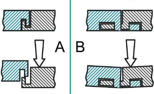 Сборка модулей газонной решетки