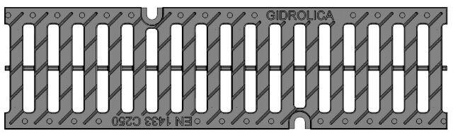 Решетка для лотка Gidrolica Pro ЛВ-10.14,5.15,2