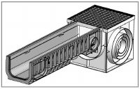 Пескоуловитель для лотков PolyMax Basic DN200